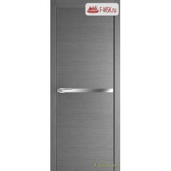 Межкомнатная дверь PROFIL DOORS. Модель 11 ZN молдинг AL , Цвет: грувд серый , Отделка: экошпон (Товар № ZF139375)