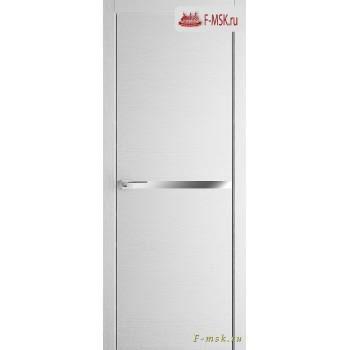 Межкомнатная дверь PROFIL DOORS. Модель 11 ZN молдинг AL , Цвет: монблан , Отделка: экошпон (Товар № ZF139377)