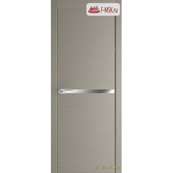 Межкомнатная дверь PROFIL DOORS. Модель 11 ZN молдинг AL , Цвет: стоун , Отделка: экошпон (Товар № ZF139378)