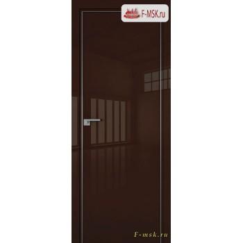 Межкомнатная дверь PROFIL DOORS. Модель 1 LK , Цвет: терра люкс , Отделка: глянец (Товар № ZF139429)