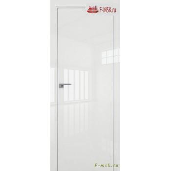 Межкомнатная дверь PROFIL DOORS. Модель 1 LK , Цвет: белый люкс , Отделка: глянец (Товар № ZF139428)