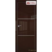 Межкомнатная дверь PROFIL DOORS. Модель 2 LK , Цвет: терра люкс , Отделка: глянец (Товар № ZF139433)
