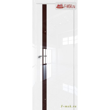 Межкомнатная дверь PROFIL DOORS. Модель 6 LK , Цвет: белый люкс , Отделка: глянец (Товар № ZF139440)