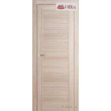 Межкомнатная дверь PROFIL DOORS. Модель  7 Х глухая , Цвет: капучино мелинга , Отделка: экошпон (Товар № ZF137982)