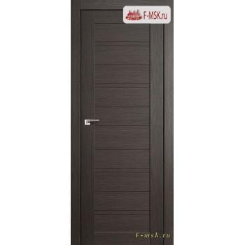 Межкомнатная дверь PROFIL DOORS. Модель  7 Х глухая , Цвет: грэй мелинга , Отделка: экошпон (Товар № ZF137981)