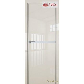 Межкомнатная дверь PROFIL DOORS. Модель 11 LK молдинг AL , Цвет: магнолия люкс , Отделка: глянец (Товар № ZF139448)