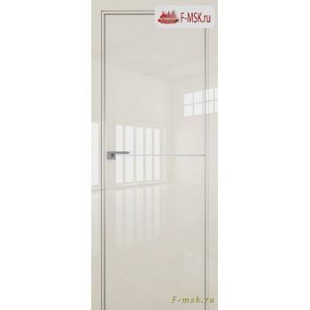 Межкомнатная дверь PROFIL DOORS. Модель 12 LK молдинг AL , Цвет: магнолия люкс , Отделка: глянец (Товар № ZF139451)