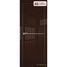 Межкомнатная дверь PROFIL DOORS. Модель 12 LK молдинг AL , Цвет: терра люкс , Отделка: глянец (Товар № ZF139453)