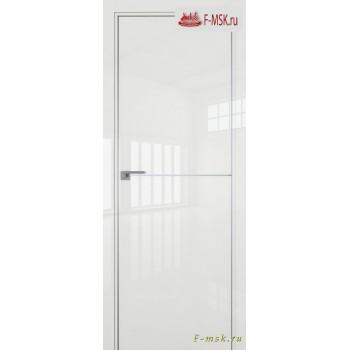 Межкомнатная дверь PROFIL DOORS. Модель 12 LK молдинг AL , Цвет: белый люкс , Отделка: глянец (Товар № ZF139452)