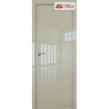 Межкомнатная дверь PROFIL DOORS. Модель 12 LK молдинг AL , Цвет: галька серая , Отделка: глянец (Товар № ZF139454)