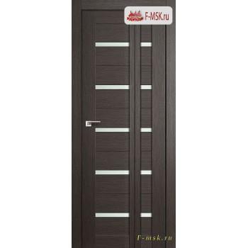Межкомнатная дверь PROFIL DOORS. Модель Книжка 7Х , Цвет: грэй мелинга , Отделка: экошпон (Товар № ZF139457)