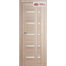 Межкомнатная дверь PROFIL DOORS. Модель Книжка 7Х , Цвет: капучино мелинга , Отделка: экошпон (Товар № ZF139458)