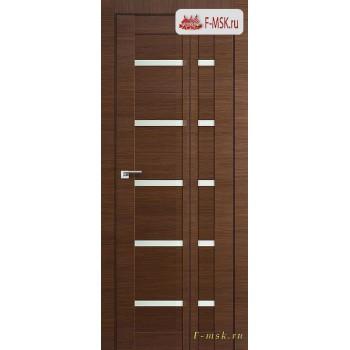 Межкомнатная дверь PROFIL DOORS. Модель Книжка 7Х , Цвет: малага черри , Отделка: экошпон (Товар № ZF139459)