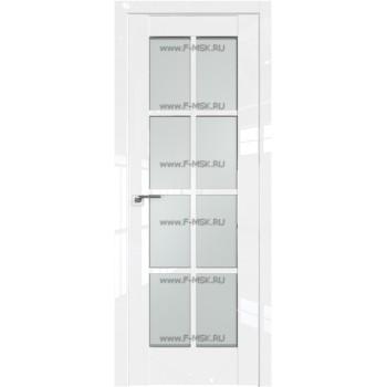 Модель 101L / Цвет Белый люкс / Стекло Матовое