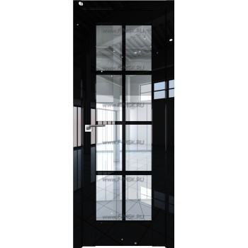 Модель 101L / Цвет Черный люкс / Стекло Прозрачное
