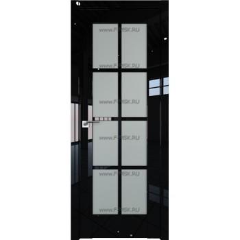 Модель 101L / Цвет Черный люкс / Стекло Матовое