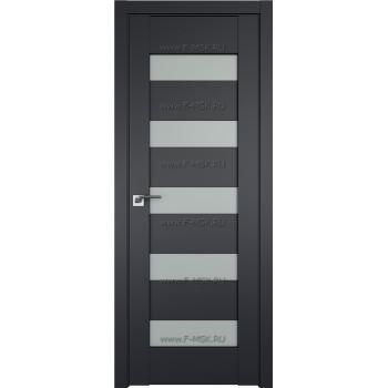 Модель 29U / Цвет Черный матовый / Декоративная вставка Матовое