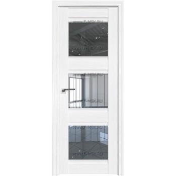 Модель 4X / Цвет Пекан белый / Стекло Прозрачное
