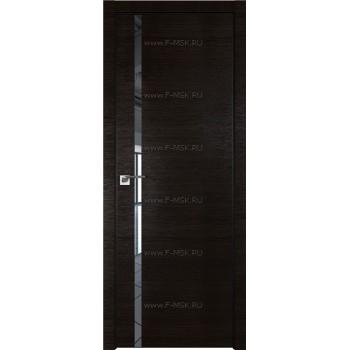 Модель 22Z / Цвет Венге Кроскут / Стекло Зеркало / Кромка Black Edition
