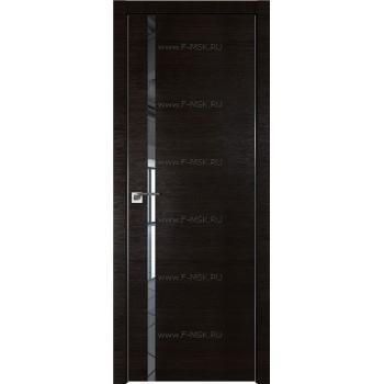 Модель 22Z / Цвет Венге Кроскут / Стекло Зеркало / Кромка Матовая алюминиевая