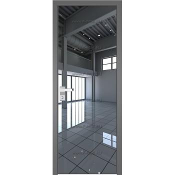 Модель 1 AGK / Стекло Зеркало / Окрас стекла Без окраса стекла / Кромка Матовая алюминиевая