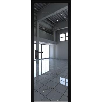 Модель 1 AGK / Стекло Зеркало / Окрас стекла Без окраса стекла / Кромка Black Edition