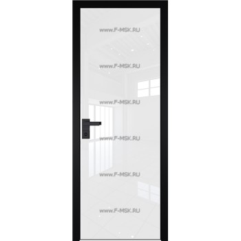Модель 1 AGK / Стекло Lacobel Белый лак / Окрас стекла Без окраса стекла / Кромка Black Edition