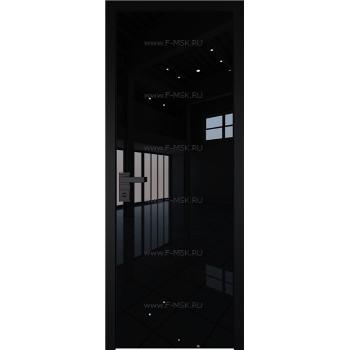 Модель 1 AGK / Стекло Lacobel Черный лак / Окрас стекла Без окраса стекла / Кромка Black Edition