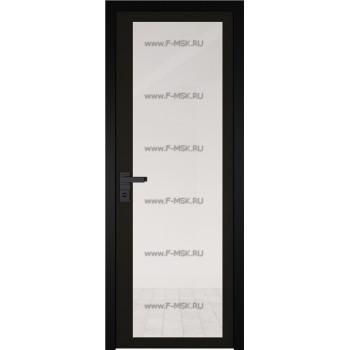 Модель 2 AGK / Стекло Прозрачное / Окрас стекла Чёрный / Кромка Black Edition