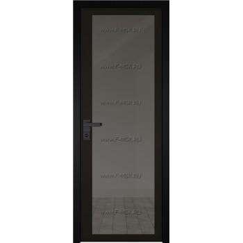 Модель 2 AGK / Стекло Планибель графит / Окрас стекла Чёрный / Кромка Black Edition
