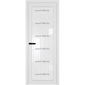 Модель 1 AGP / Стекло Белый триплекс / Вставка Рисунок 5 / Цвет профиля Белый матовый RAL9003