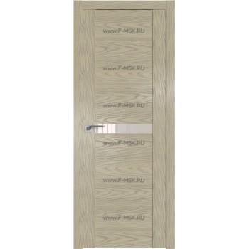 Модель 2.01N / Цвет Дуб SKY Крем / Стекло Lacobel Перламутровый лак