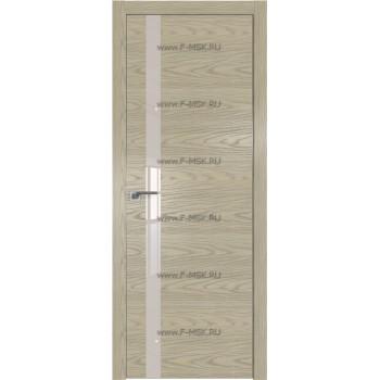 Модель 6NK / Цвет Дуб SKY Крем / Стекло Lacobel Перламутровый лак / Кромка Матовая с 4-х сторон