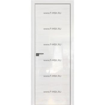 Модель 30STK / Цвет Pine White glossy / Стекло Lacobel Белый лак / Кромка Матовая с 4-х сторон