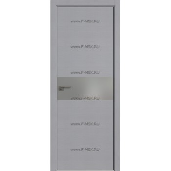 Модель 4STK / Цвет Pine Manhattan Grey / Стекло Lacobel Серебряный лак / Кромка Black Edition с 4-х сторон