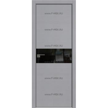 Модель 4STK / Цвет Pine Manhattan Grey / Стекло Lacobel Черный лак / Кромка Black Edition с 4-х сторон