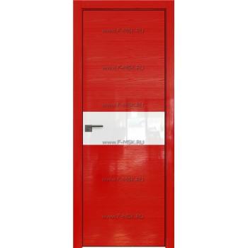 Модель 4STK / Цвет Pine Red glossy / Стекло Lacobel Белый лак / Кромка Black Edition с 4-х сторон