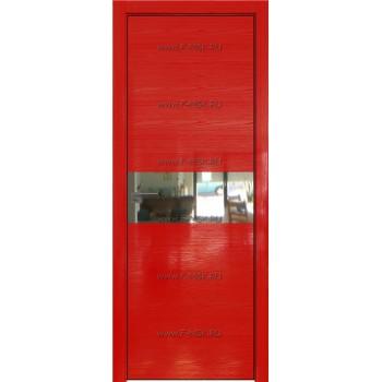 Модель 4STK / Цвет Pine Red glossy / Стекло Зеркало / Кромка Black Edition с 4-х сторон