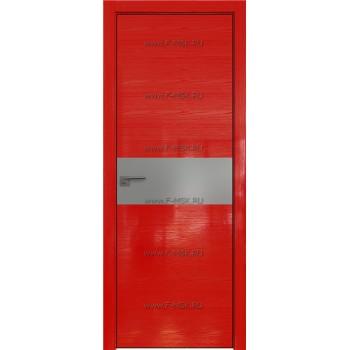 Модель 4STK / Цвет Pine Red glossy / Стекло Lacobel Серебряный лак / Кромка Black Edition с 4-х сторон