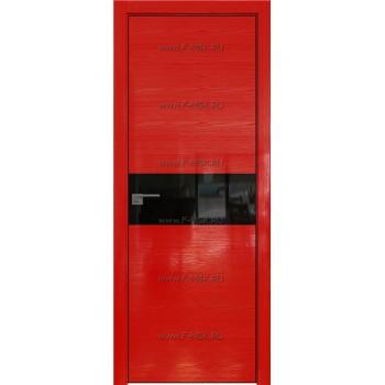 Модель 4STK / Цвет Pine Red glossy / Стекло Lacobel Черный лак / Кромка Black Edition с 4-х сторон