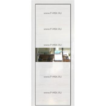 Модель 4STK / Цвет Pine White glossy / Стекло Зеркало / Кромка Black Edition с 4-х сторон
