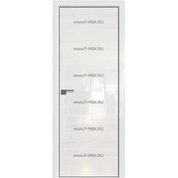 Модель 4STK / Цвет Pine White glossy / Стекло Lacobel Белый лак / Кромка Black Edition с 4-х сторон