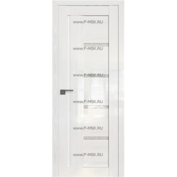 Модель 2.08STP / Цвет Pine White glossy / Стекло Дождь белый