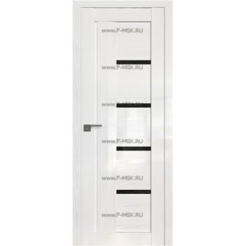 Модель 2.08STP / Цвет Pine White glossy / Стекло Дождь чёрный