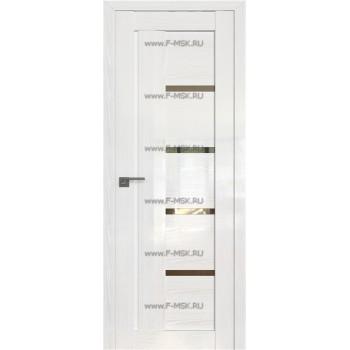 Модель 2.08STP / Цвет Pine White glossy / Стекло Прозрачное