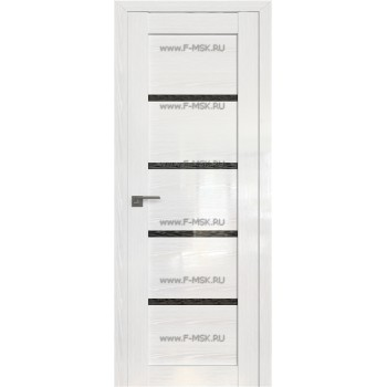 Модель 2.09STP / Цвет Pine White glossy / Стекло Дождь чёрный