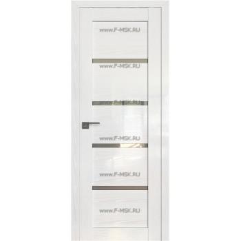 Модель 2.09STP / Цвет Pine White glossy / Стекло Прозрачное