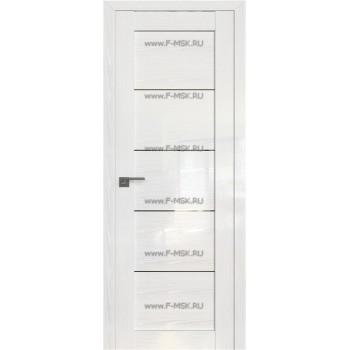 Модель 2.11STP / Цвет Pine White glossy / Стекло Прозрачное
