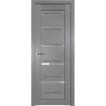 Модель 2.09XN / Цвет Грувд серый / Стекло Дождь белый