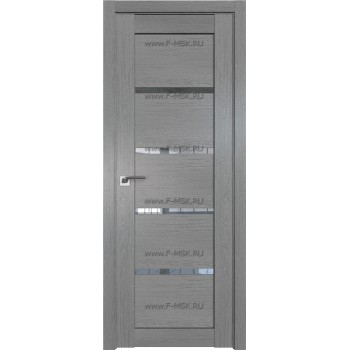 Модель 2.09XN / Цвет Грувд серый / Стекло Прозрачное